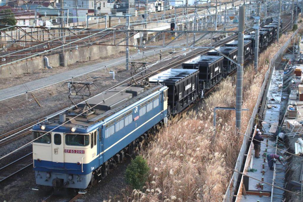 国内唯一「石炭列車」消滅へ 川崎から熊谷へ輸入炭を輸送