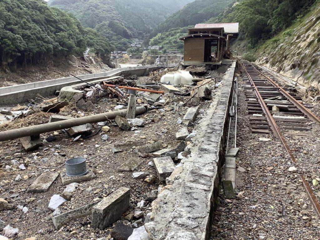 写真でたどる肥薩線の被災現場 JR九州全体の被害の6割占める | 鉄道 ...
