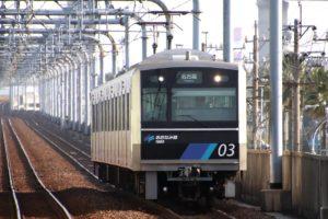 あおなみ線の列車。【撮影:鉄道プレスネット編集部】